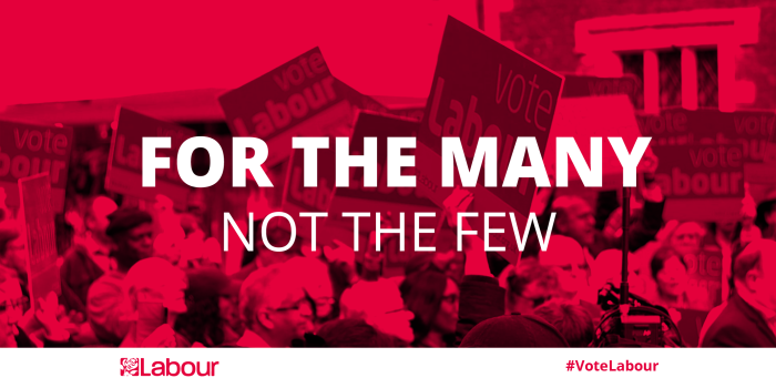 For the Many Not the Few Labour Party