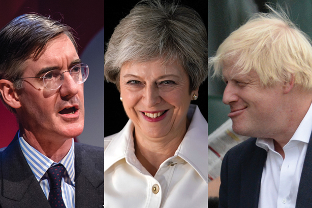 Conservative Conference 2018 Three Stooges