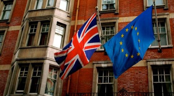 UK EU Flag Brexit